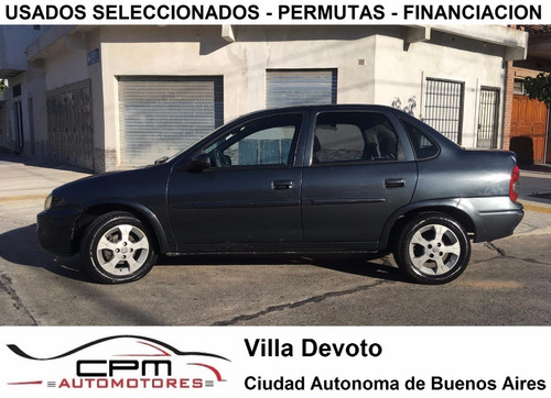 chevrolet corsa classic super 2007 full azul cpm