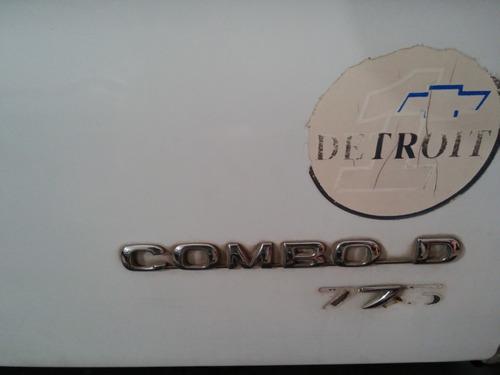 chevrolet corsa combo diesel con detalles de chapa ingrassia
