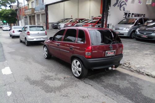 chevrolet corsa gl 1.6 4 portas 1996/1996 + rodas 17