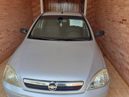 chevrolet corsa hatch 2004 1.0 gasolina prata
