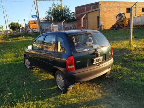 chevrolet corsa mpfi 1.6 verde oscuro mod 1998 5 puertas
