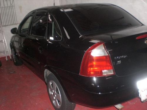 chevrolet corsa sedan 1.0 joy 4p preto 2005