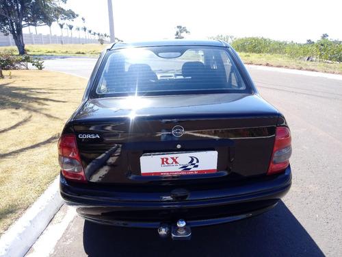 chevrolet corsa sedan 1.0 preto 2003