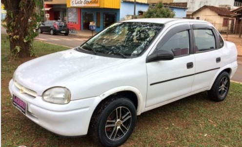 chevrolet corsa sedan 1.0 super 4p 68hp