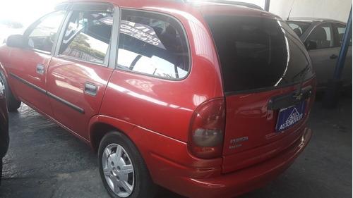 chevrolet corsa wagon 1.4  2010 financio y permuto