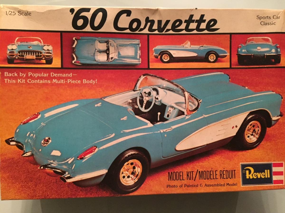 Chevrolet Corvette 1960  Esc  1/25  Revell Usa
