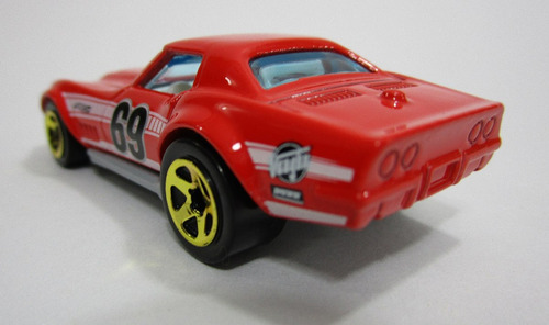 chevrolet corvette 69 coleccion 7cm hot wheels escala 1/64