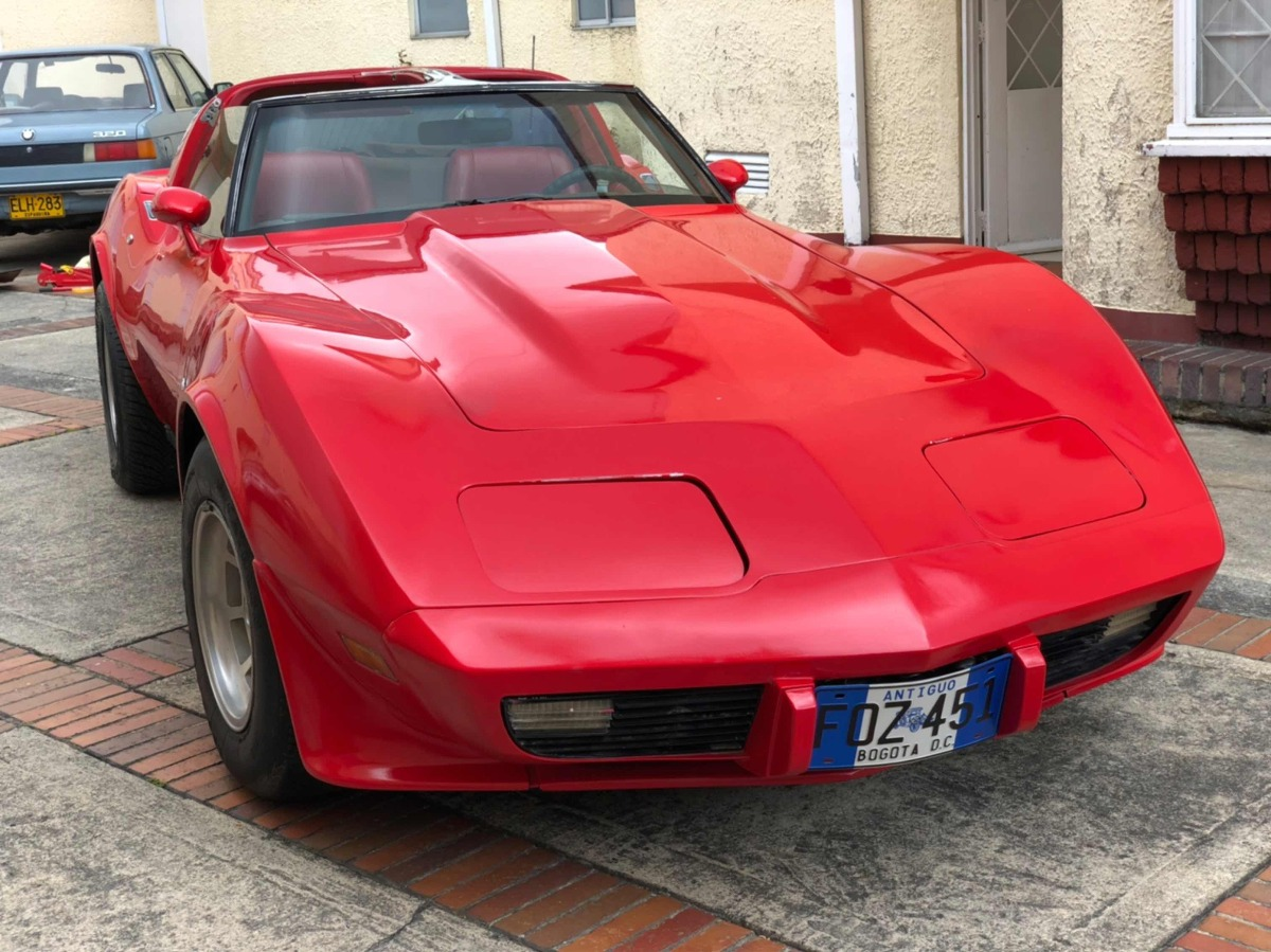 Chevrolet Corvette C3 L48 1979 V8 350 5.700cc