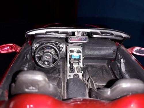 chevrolet corvette c6 escala 1/18 2005 maisto como nuevo