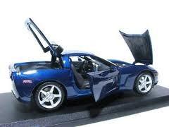 chevrolet corvette coupe 2005 en 1:18 special edition maisto