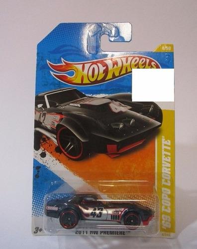 chevrolet corvette escala 1/64 coleccion hot wheels