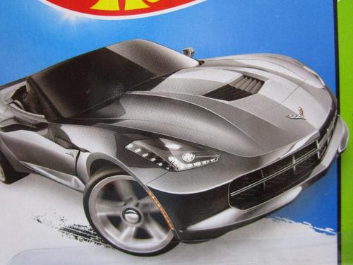 chevrolet corvette escala metalico coleccion hot wheels f1