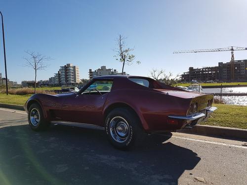 chevrolet corvette stingray 1972 autos de lujo unico!!