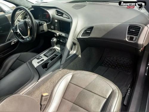 chevrolet corvette stingray coupe z51 460hp gris oxford 2017
