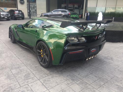 chevrolet corvette stingray z06 2018 verde.
