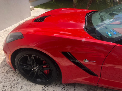 chevrolet corvette stingray z51 2014 rojo