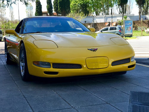 chevrolet corvette z06 manual amarillo 2002 (pat 2014) nuevo