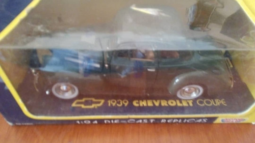 chevrolet coupe 1939 escala 1/24 nuevo.