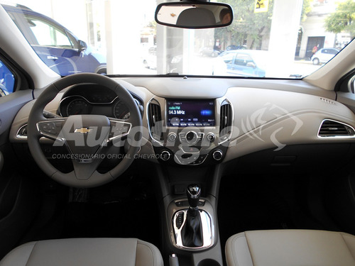 chevrolet cruze 1.4 sedan lt manual cuero camara full