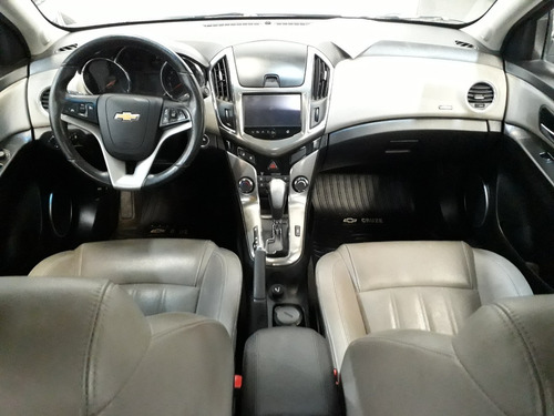 chevrolet cruze 1.8 ltz aut 2015 gris, concesionario oficial