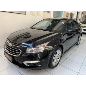 Chevrolet Cruze 1.8 Ltz Sport6 Flex 2015 Preto Blindado