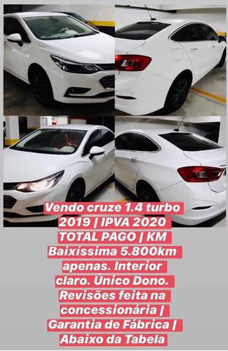 chevrolet cruze 2019 1.4 ltz turbo aut. 4p