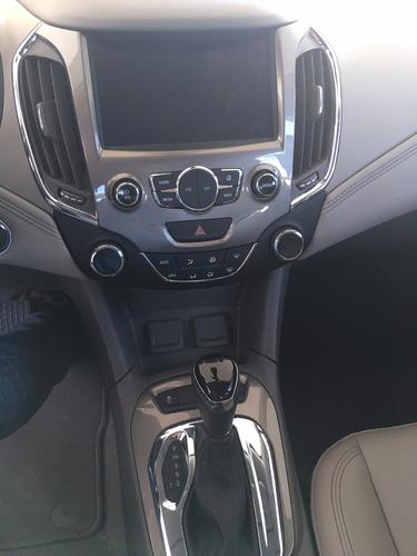 chevrolet cruze 4 puertas ltz automatico blanco