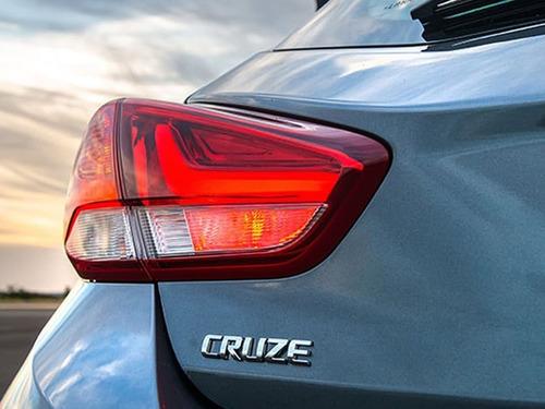 chevrolet cruze 5 puertas 1.4t premier i 2020 0km azul #7