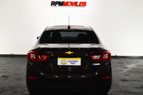 chevrolet cruze lt 1.4 4 puertas bordo 2018 rpm moviles