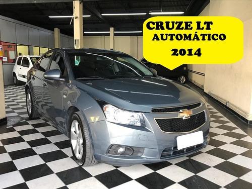 chevrolet cruze lt autom  cinza 2013/2014 flex aut