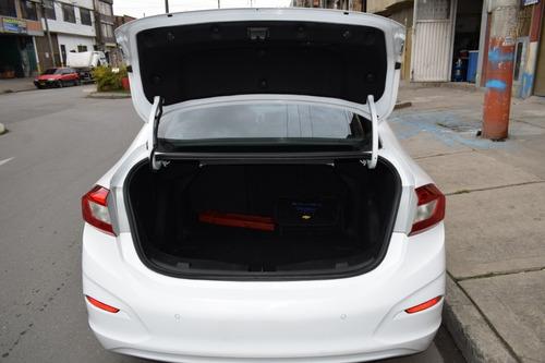 chevrolet cruze lt motor 1.4 turbo 2017 blanco 4 puertas