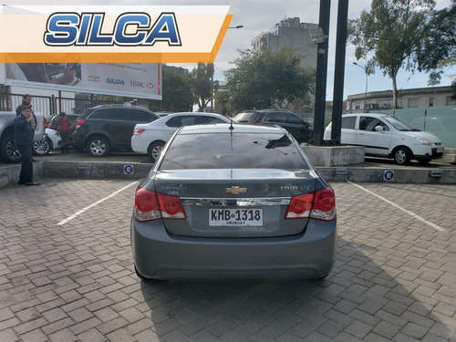 chevrolet cruze sedan at 2012 gris oscuro 4 puertas