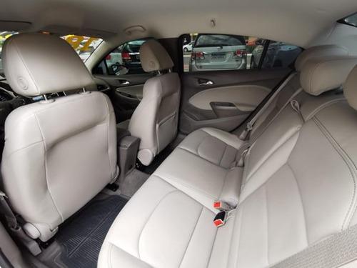 chevrolet cruze sedan ltz 2017/2018 1.4 completo aut prata