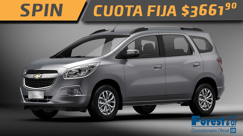 chevrolet - cuota fija- financiado - spin - $170.800