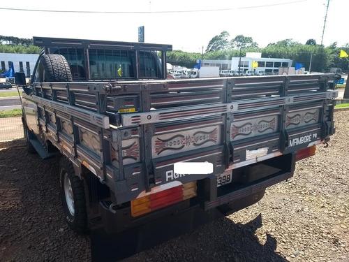 chevrolet d-20 carroceria de madeira