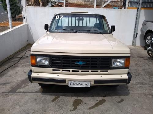 chevrolet d-20 custon s 4.0 diesel  ano 1987