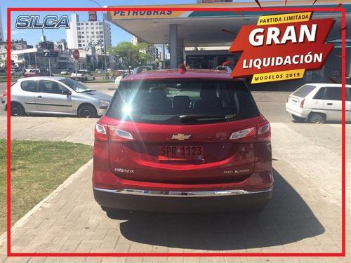chevrolet equinox premier liquidación 2019 rojo 0km