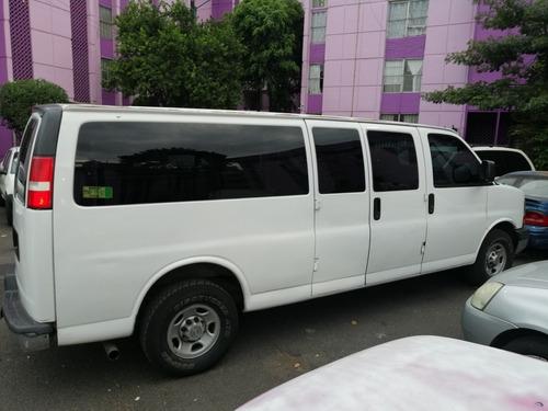 chevrolet express 15 pasajeros