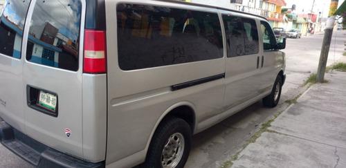 chevrolet express 6.0passenger van paq c 15 pas v6 mt 2008