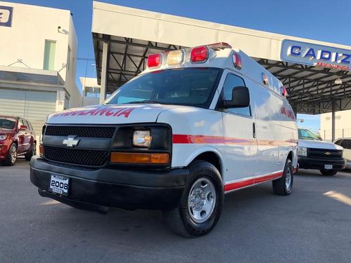 chevrolet express ambulancia 2008