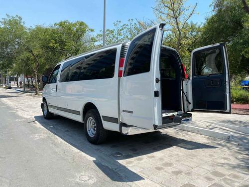 chevrolet g-30 2000 express van pasajeros v8 aut. a.c