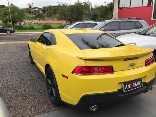 chevrolet gm camaro ss 6.2 v8 amarelo 2014