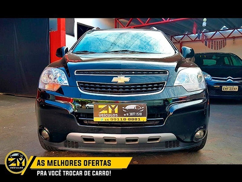 chevrolet gm captiva sport awd 3.0 v6 preto 2009