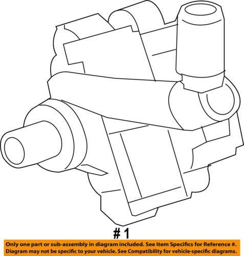Chevrolet Gm Oem 10 15 Camaro Power Steering Pump 13576570
