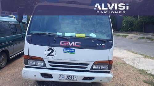 chevrolet gmc 7110 con furgón térmico sin equipo iva inc.