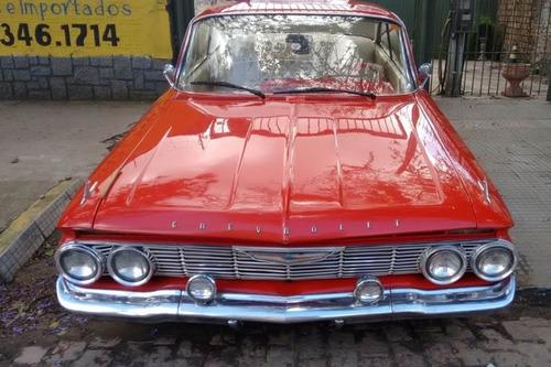 chevrolet impala - 1961 61 - bubble top - original - antigo
