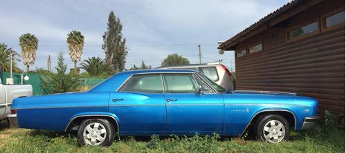 chevrolet impala año 1966. sedan motor 5400 cc  v8 ,