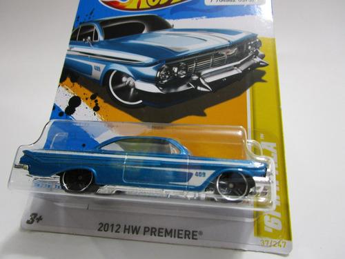 chevrolet impala edic 2011 escala 1/64 coleccion hot wheels