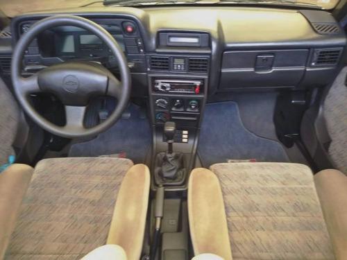 chevrolet kadett gsi 2.0 mpfi 1995 branca gasolina