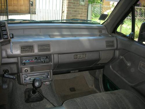 chevrolet luv doble cabina 2.3 nafta/gnc.